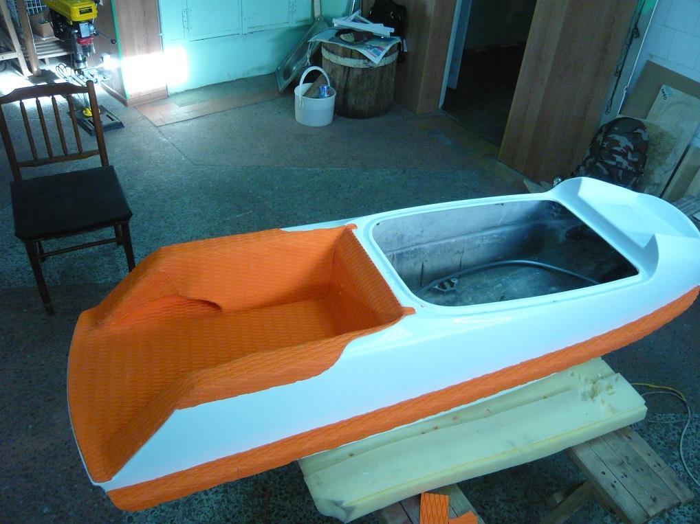 Изготовление лодок из стеклопластика своими руками